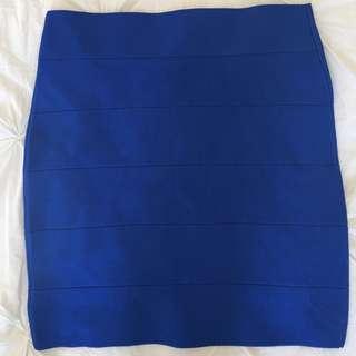 2B bebe bandage skirt (L)