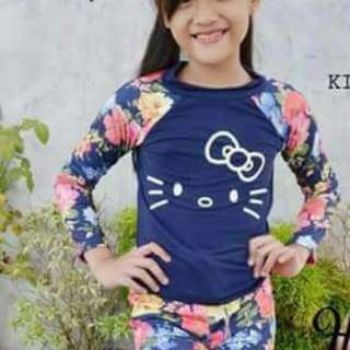 HELLO KITTY RASHGUARD