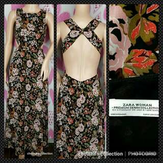 Zara Maxi Dress Open Back