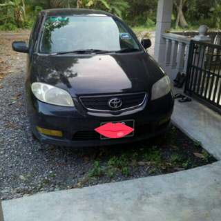Toyota Vios G spec,