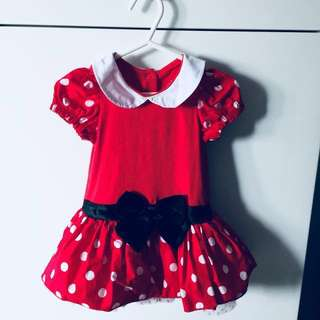 BN Authentic Disney Baby Minnie Mouse Costume