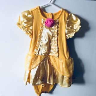 Preloved Authentic Disney Baby Belle Costume