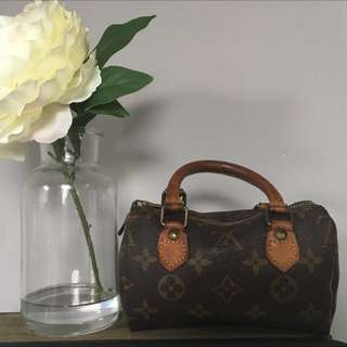AUTHENTIC Louis Vuitton Mini Speedy