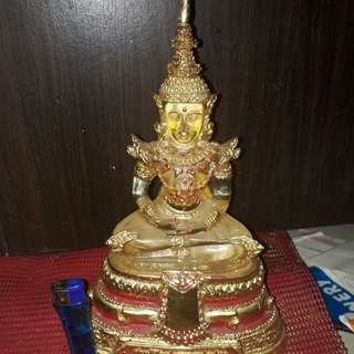 PHRA KEOW BUCHA 5INCH LAP FROM LP LERSILINGDAM SOMDEJ LP PARN LUKSIT TEMPLE FOR SALE.