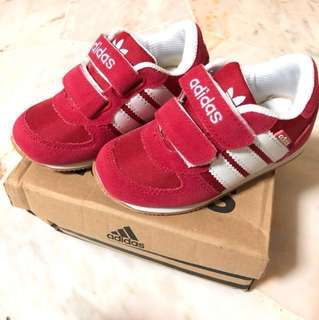 BN Adidas toddler sport shoes in red