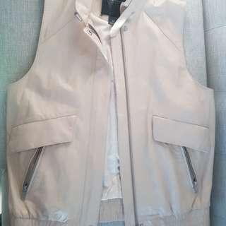 Club Monaco Leather Vest