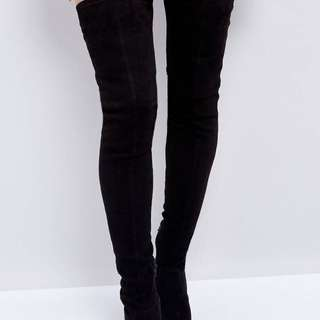 Kendra over the knee boots