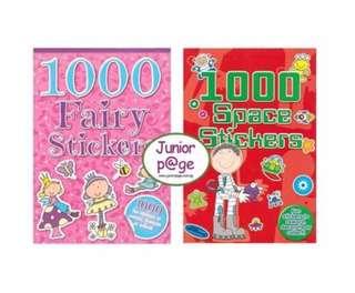1000 Sticker Book