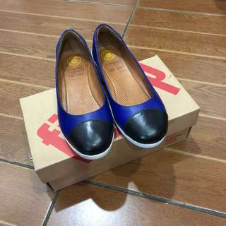 Fitflop Leather Ballerina