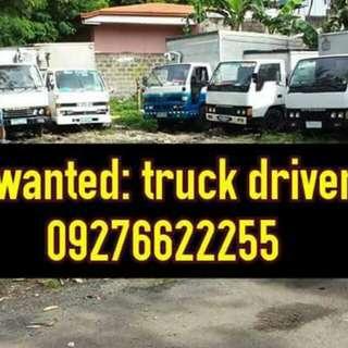 Urgent hiring truck driver and helper