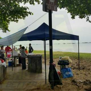 PICNIC / BBQ GAZEBO EASY UP TENT   PURCHASE/RENTAL  Whatsapp : 84527614  Location : Pasir Ris