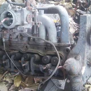 Toyota 12r engine cylinder head 09754518547