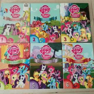 Dvds: My Little pony series 1 to 6
