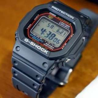 Casio G-shock 太陽能電波版 GW-M5610-1 全新有一年保用