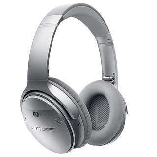 Bose® QuietComfort® 35 Series II Wireless Noise Cancelling Headphones - Silver (QC35 ii)
