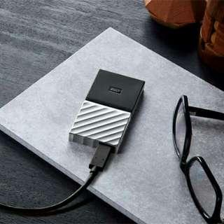 MY PASSPORT SSD 1TB Blazing-fast file transfers external portable SSD