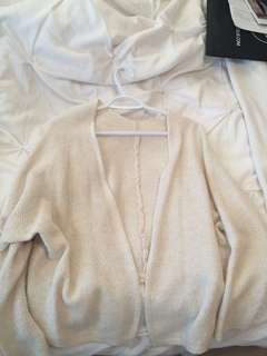 Brandy Melville Cream Cardigan