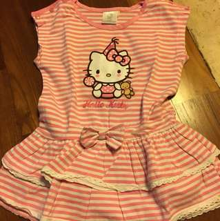 Hello Kitty Dress 2-3 yrs