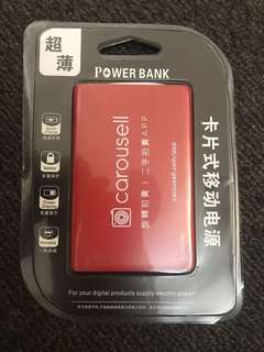 全新流動電池咭,附缐,手機平板new mobile power bank battery phone tablets