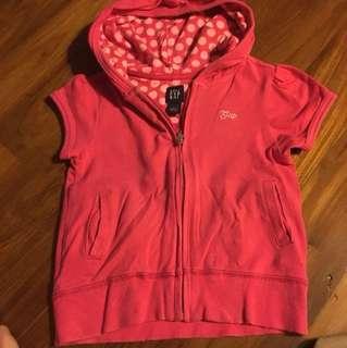 Pink hoodie gap kid