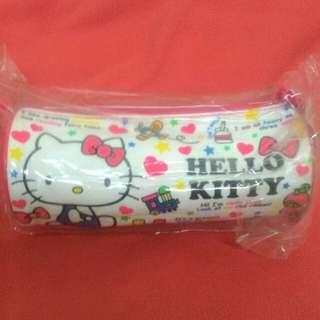 hello kitty圓筒筆袋 收納包