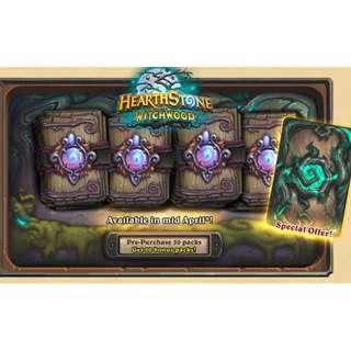 Selling Hearthstone Card pack / Adventures / Heroes