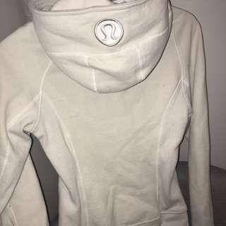 Lulu lemon size 4 zip-up sweater