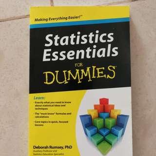Statistics Essential for Dummies