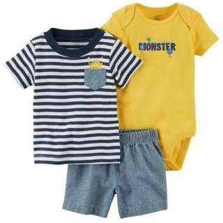 Carter'z 3in1 set