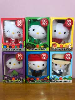 Hello Kitty SG50 Collectibles