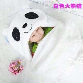 Baby's Kids Blanket Hooded Towel Hoodies Panda