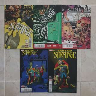 "Doctor Strange Vol 4 (Marvel Comics 5 Issues; #1 to 5; complete story arc on ""Way of the Weird"")"