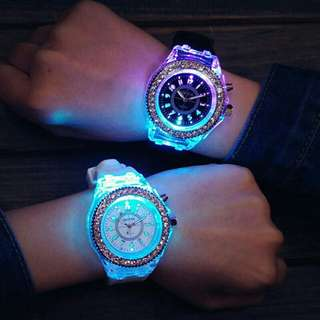 LED COUPLE WATCH!!