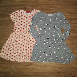 Girl dresses 4-5yrs