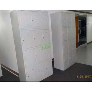 SERIES 12 DOOR LOCKER CABINET PADLOCK TYPE--KHOMI