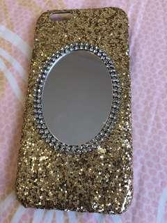 Iphone 6 Glitter hard case - NEW