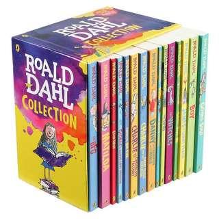 Roald Dahl Books (15 books in one box set)