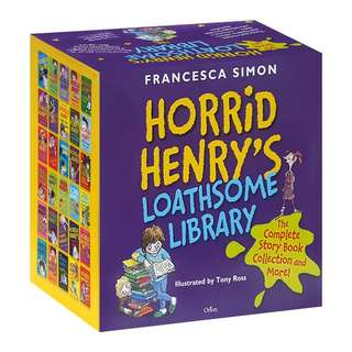 Horrid Henry's Loathsome Library Box Set - 30 Books (Collection)