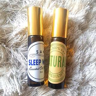 Insomnia, Mosquito Repellant, Allergy Relief Essential Oil Blend Roll On, Aromatherapy