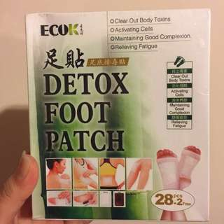 ECOK Detox foot patch - Japan technology