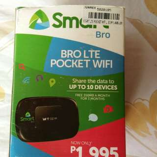 Smart Bro LTE Pocket wifi
