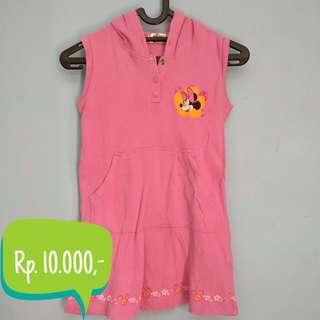 Dress Anak Merk Mickey for kids 5-6 tahun