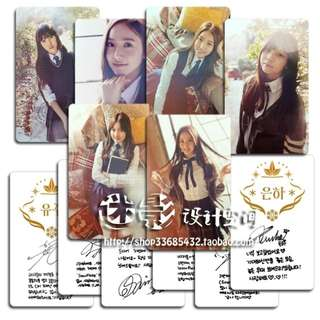 GFRIEND SNOWFLAKE UNOFFICIAL PHOTOCARDS (B VER.)