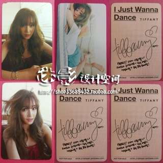 TIFFANY IJWD UNOFFICIAL PHOTOCARDS