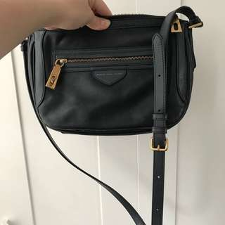Marc by Marc Jacobs navy blue side bag