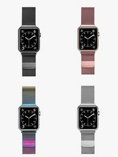 Steel Mesh Apple Watch Band