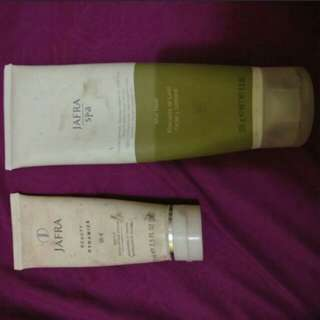 JAFRA MUD MASK & SCRUB