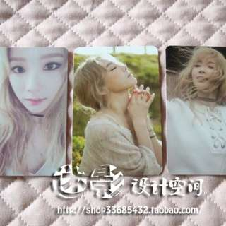 TAEYEON I UNOFFICIAL PHOTOCARDS