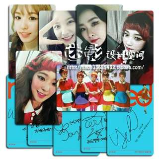 RED VELVET THE RED UNOFFICIAL PHOTOCARDS (A VER.)