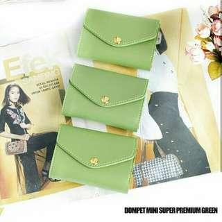 Dompet hijau premium